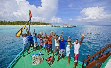 animazione alle Maldive